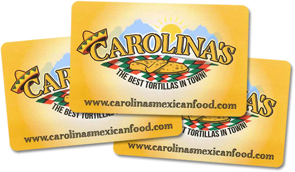 Gift Cards Carolina S Mexican Food